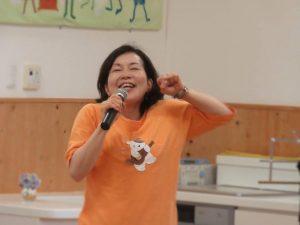 「みゅーまる」代表 岡本和子さん